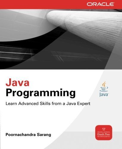 Java Programming (Oracle Press) by Poornachandra Sarang, http://www.amazon.co.uk/dp/007163360X/ref=cm_sw_r_pi_dp_s70Jtb18G7HJZ