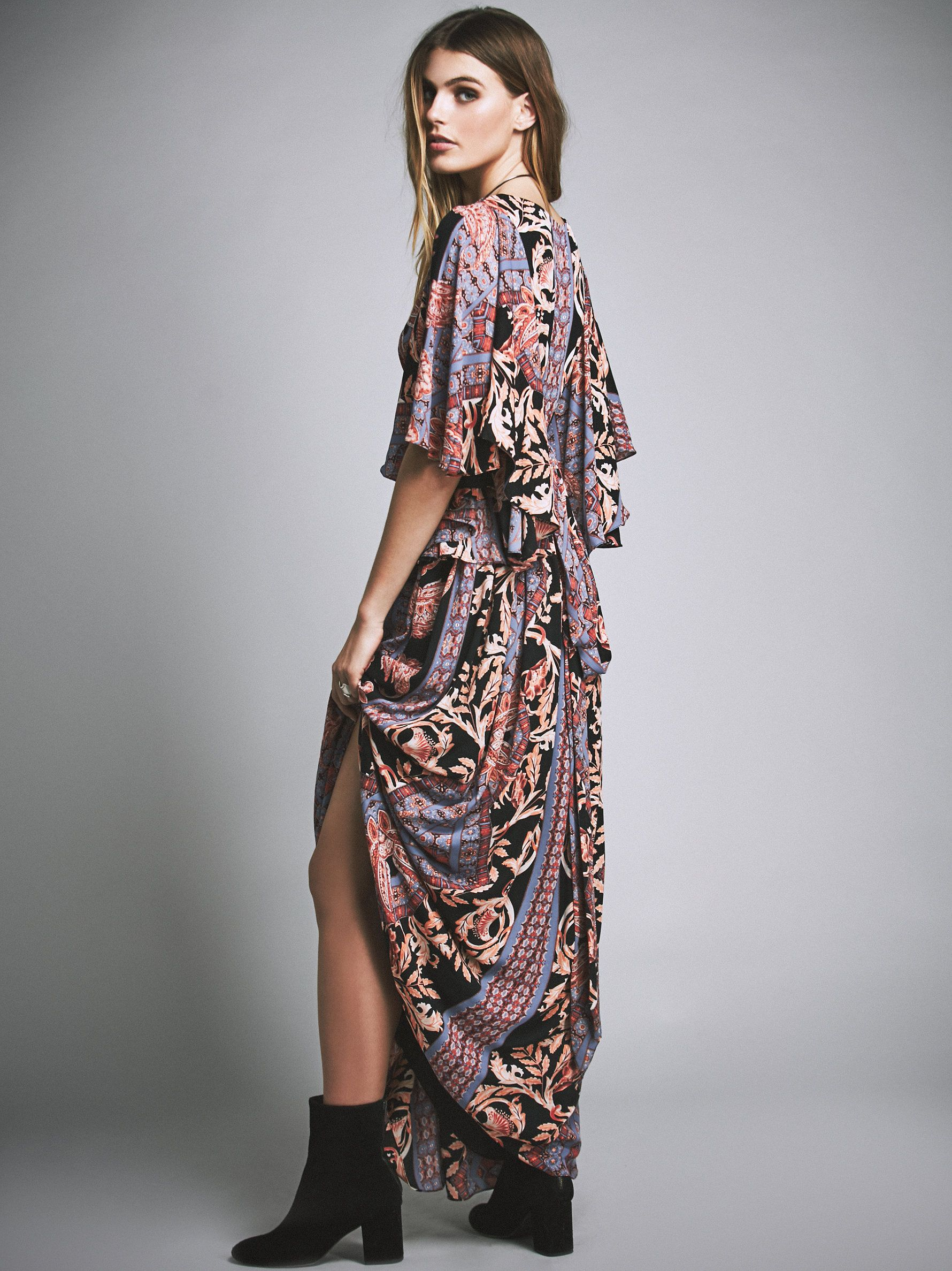 b1abaf308 Free People Printed Fern Maxi Party Dress, $350.00 | I <3 Clothes