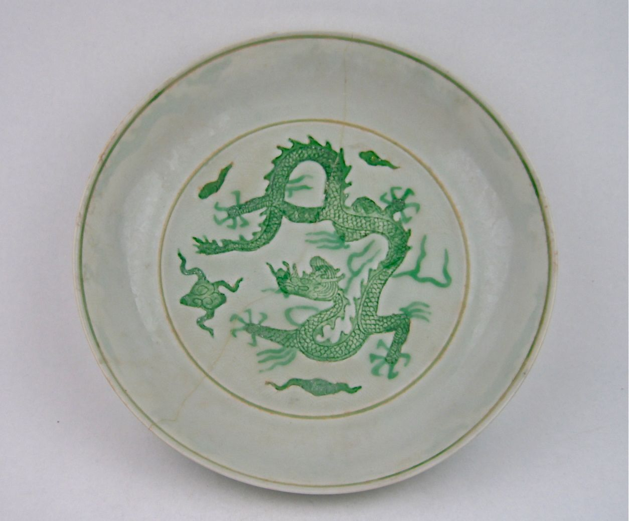 A ming dynasty dish with green dragon 16th century zhengde mark a green five clawed dragon dish zhengde mark and period ming dynasty century reviewsmspy
