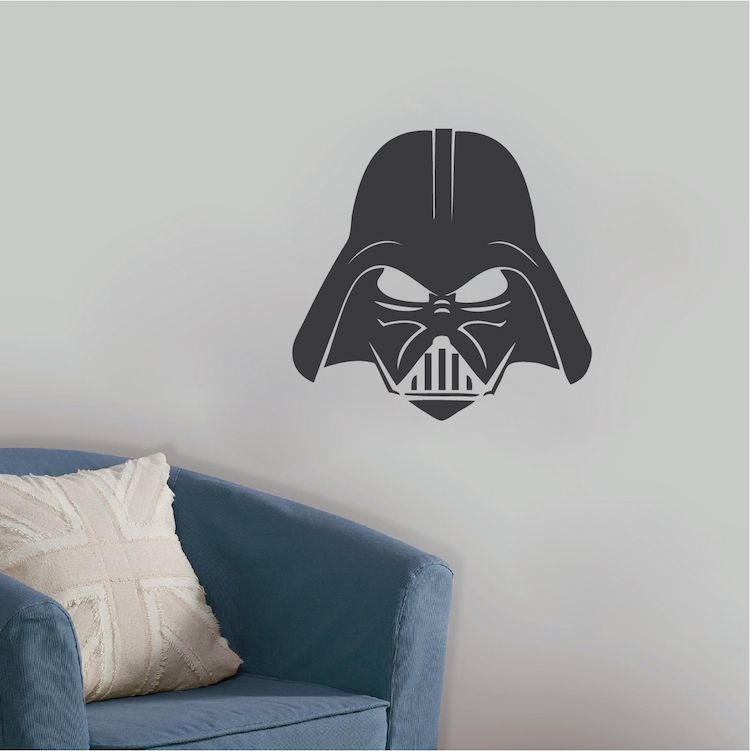 darth vader wall decals Star Wars wall decals Galactic Empire Wall Decals for kids room for Boy/'s Room kcik1266