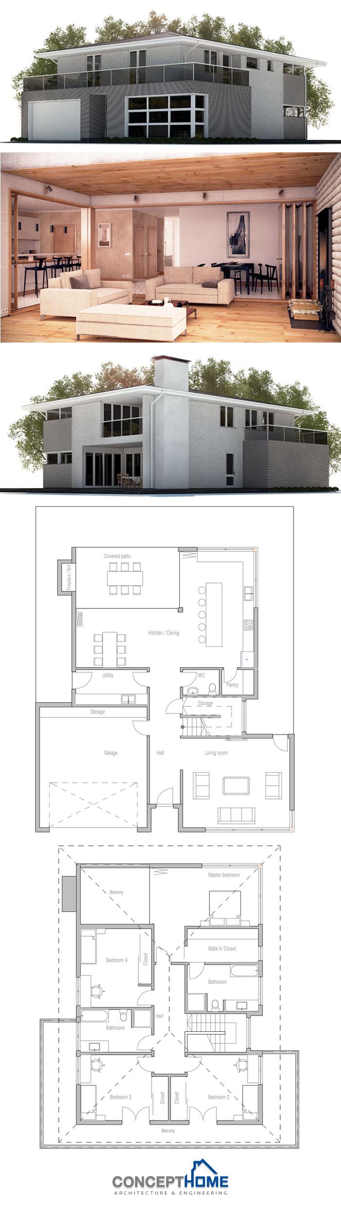 House Plan Droomhuis Haus Haus Plane Haus Ideen