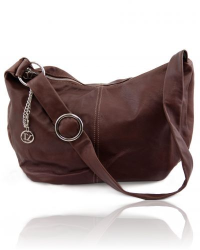 YVETTE TL140900 Leather hobo bag
