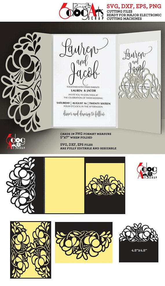 Pin On Cricut Wedding Invitations