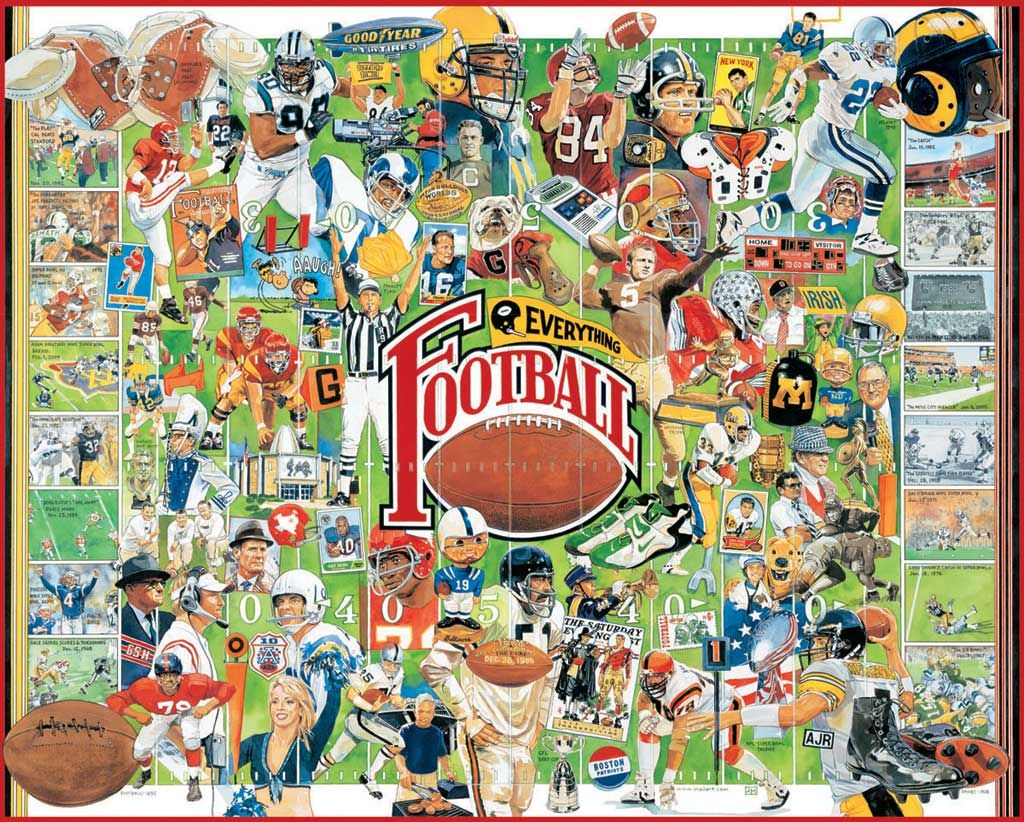 White mountain puzzles football greats do it yourself jigsaw white mountain puzzles football greats do it yourself jigsaw puzzle boxed attractively with solutioingenieria Image collections