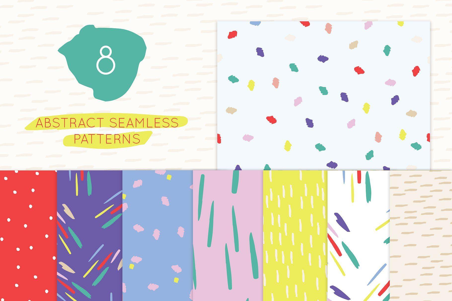 Paint Strokes and Splashes designsinstagrambackground