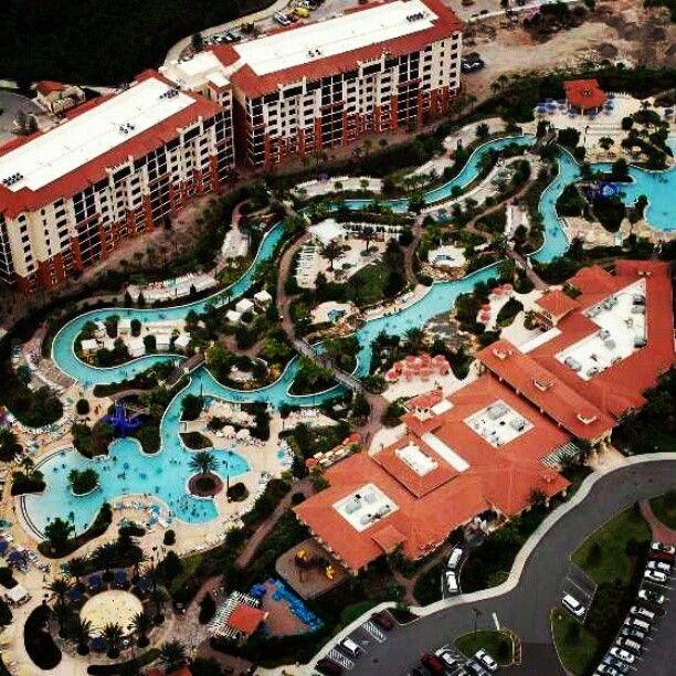Aerial View Of River Island And The Lazy River From Liyahbaby7 Orange Lake Resort Orlando Orange Lake Orlando Fl Vacation