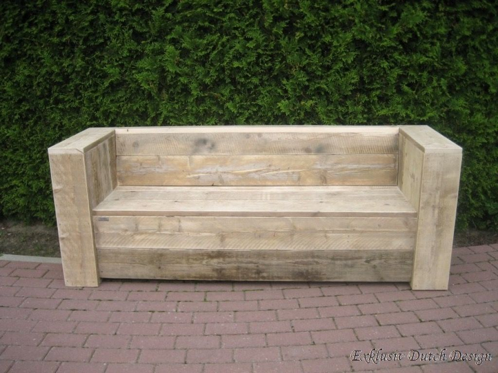Geliebte Holzbank Selber Bauen Bauanleitung | Holzmöbel/Paletten/Holz-Deko @NW_14
