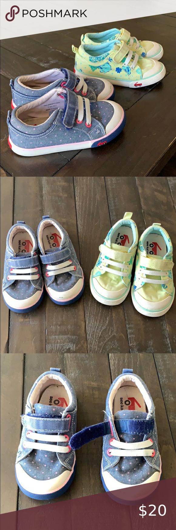 See Kai Run girl size 9 sneakers in