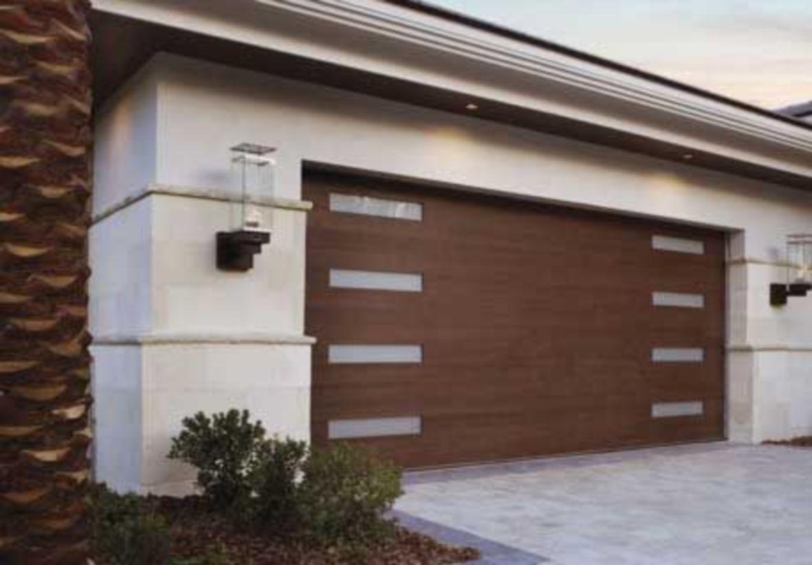 38 Garagentor Dekorationsidee Die Sie Bauen Konnen Garage Door Styles Contemporary Garage Doors Garage Doors