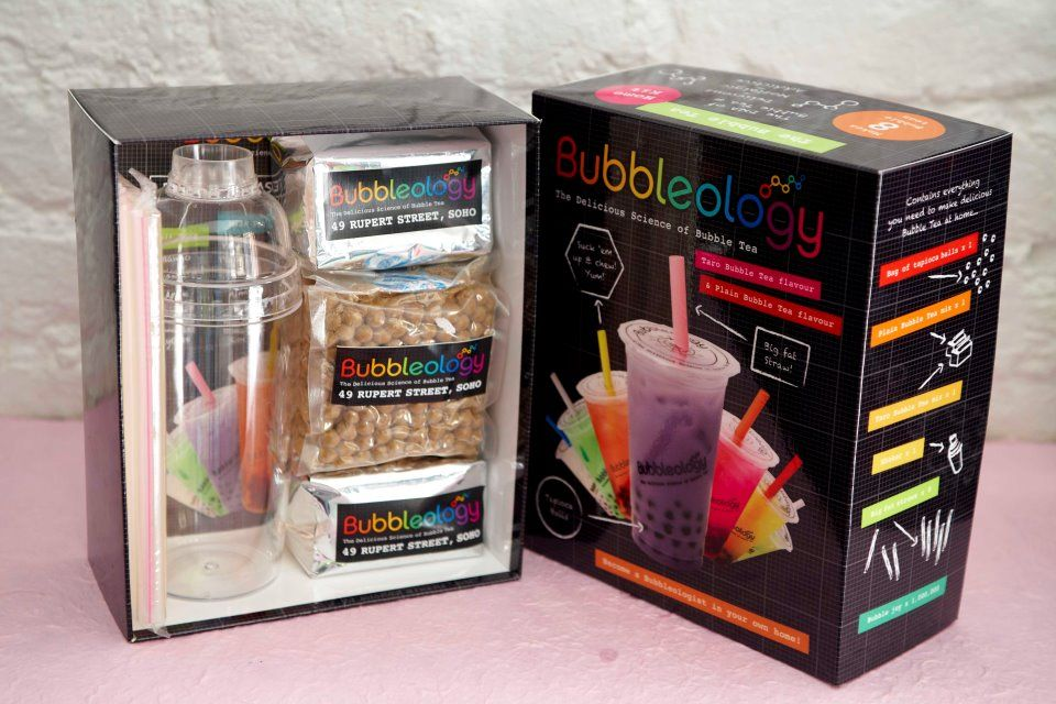 Bubbleology bubble tea gift set saw this in ireland