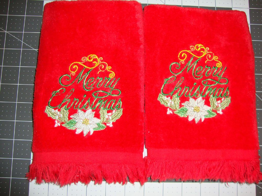 Image is loading Embroidered-Towels -Scottish-Tartan-Bagpipes-Facecloths-Hand-Bath-