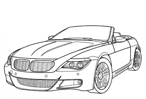 Bmw M5 Model Cars Coloring Pages Car Colors Race Car Coloring Pages