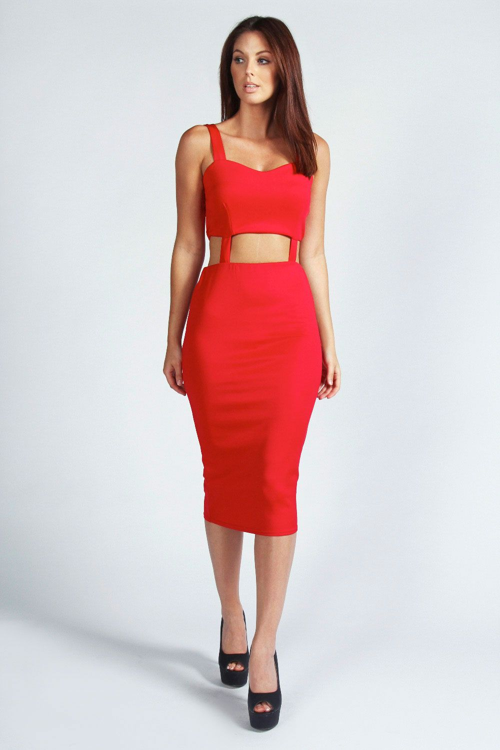 Beginners from red bodycon dress outfit ideas