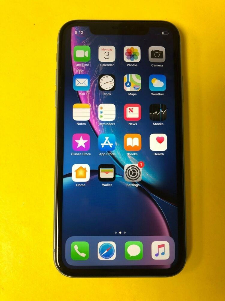 Apple Iphone Ten Xr 64gb Blue Unlocked Great Condition