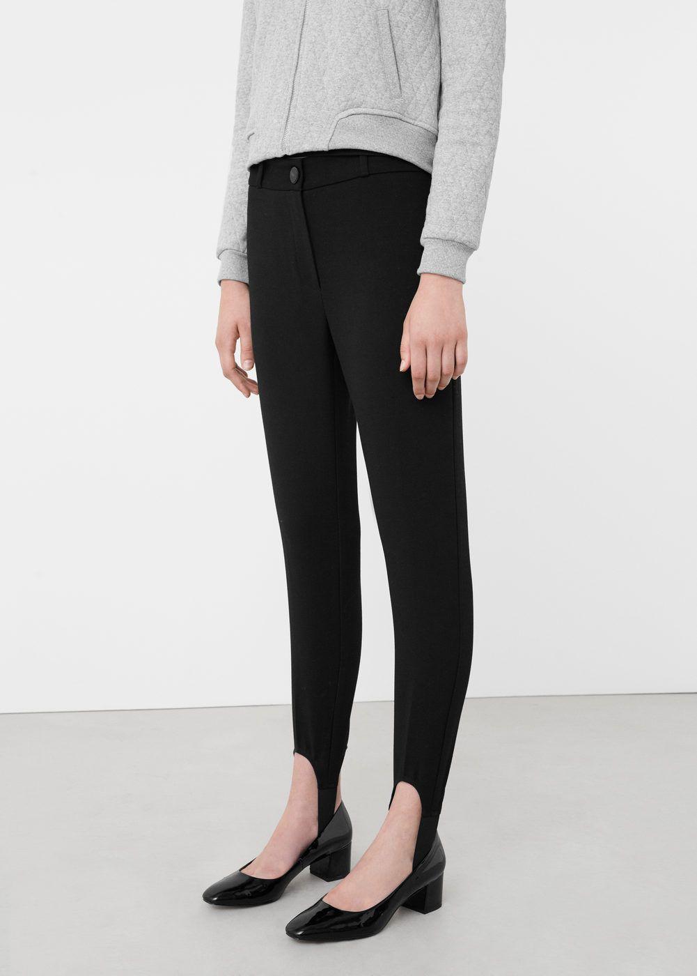 pantalon fuseau femme zara