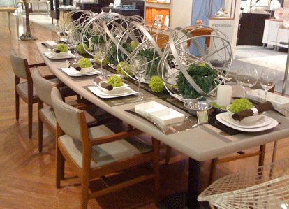 Modern Table Setting Gorgeous Modern Table Settings Tables Pinterest Modern  Table Table . Design Decoration