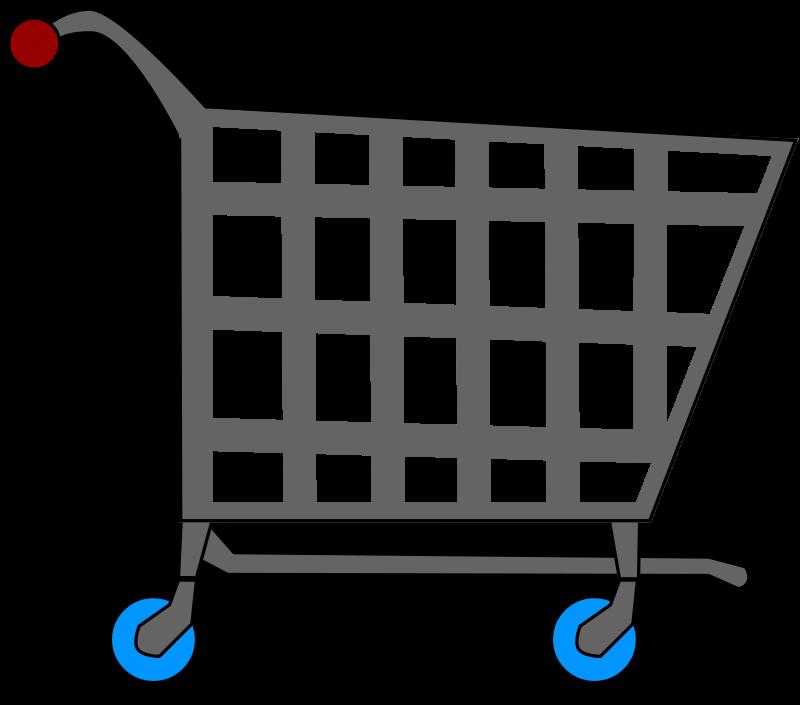 free clipart basic shopping cart mgatessinc clip art rh pinterest com grocery cart clipart free grocery cart clip art free