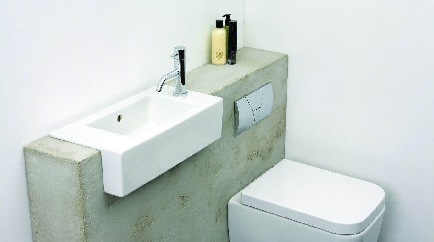 space saving ideas for small bathrooms hugo oliver bathroom ...