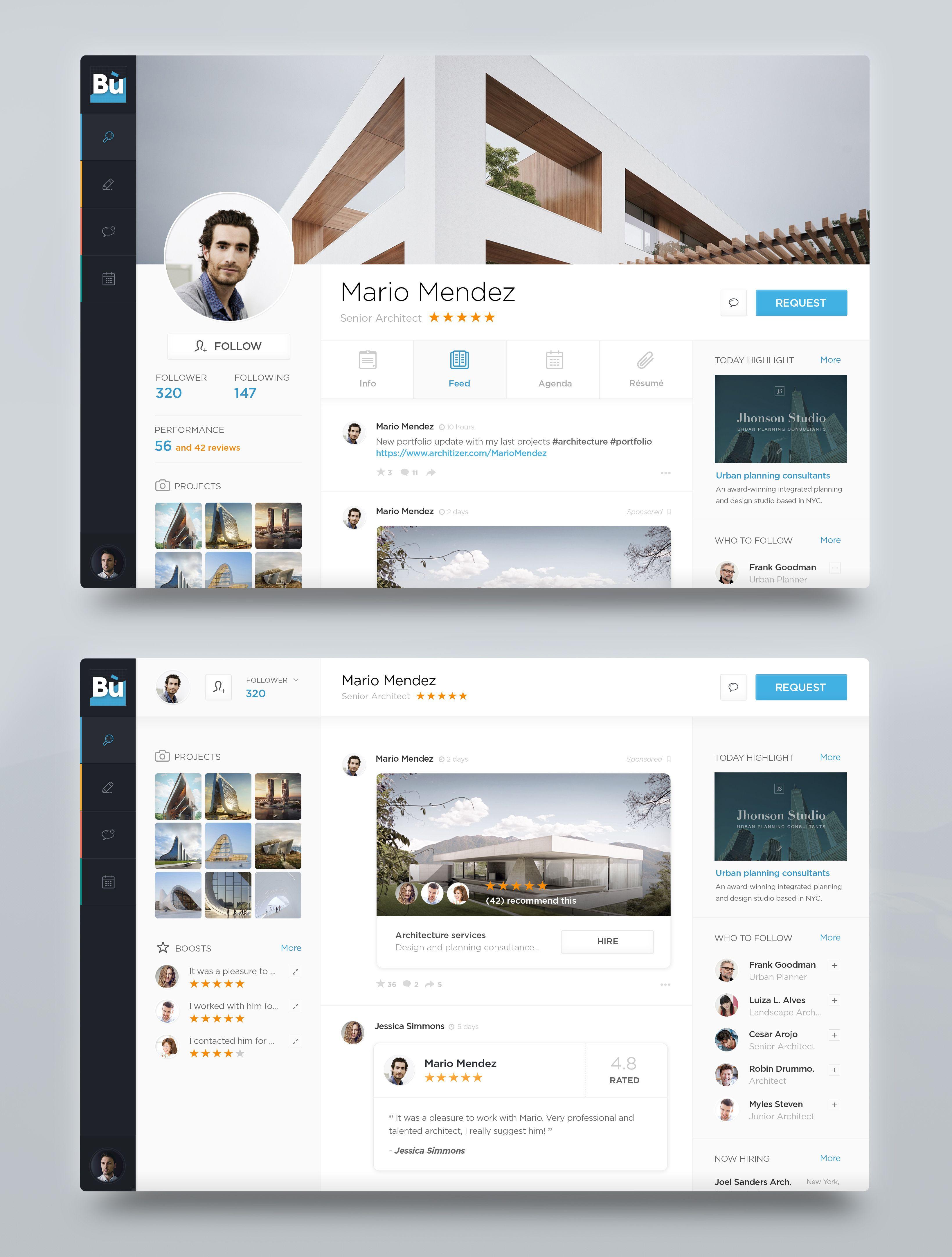 Dribbble Profile Page Jpg By Marco Coppeto Unique Web Design Dashboard Design Interface Design
