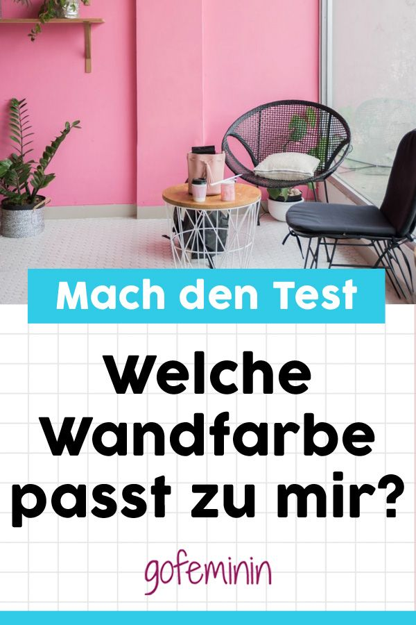 selbst test welche wandfarbe passt perfekt zu mir pers nlichkeitstests quiz pinterest. Black Bedroom Furniture Sets. Home Design Ideas