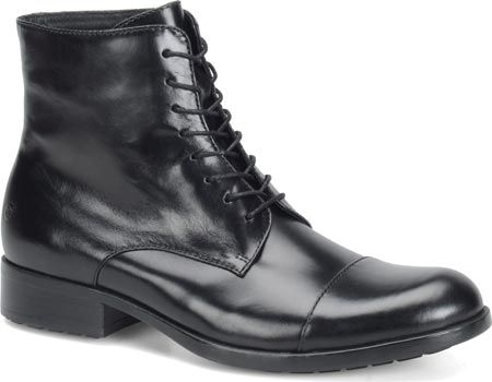 0a0fd6ec85b Men s Born Tomas - Black Full Grain Leather with FREE Shipping   Exchanges.  The Tomas is a toe cap boot designed with elegant simplicity.