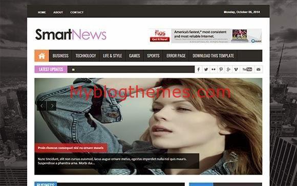 Free Blogger Templates News Blogger Theme Blogger News