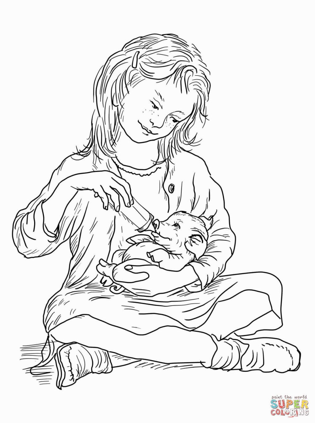 Charlottes Web Coloring Pages | Education | Pinterest | Charlottes ...
