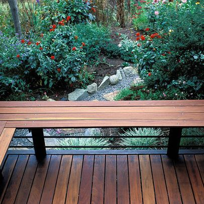 Magnificent Ipe Wood Bench Porch Backyard Deck Railing Design Gmtry Best Dining Table And Chair Ideas Images Gmtryco