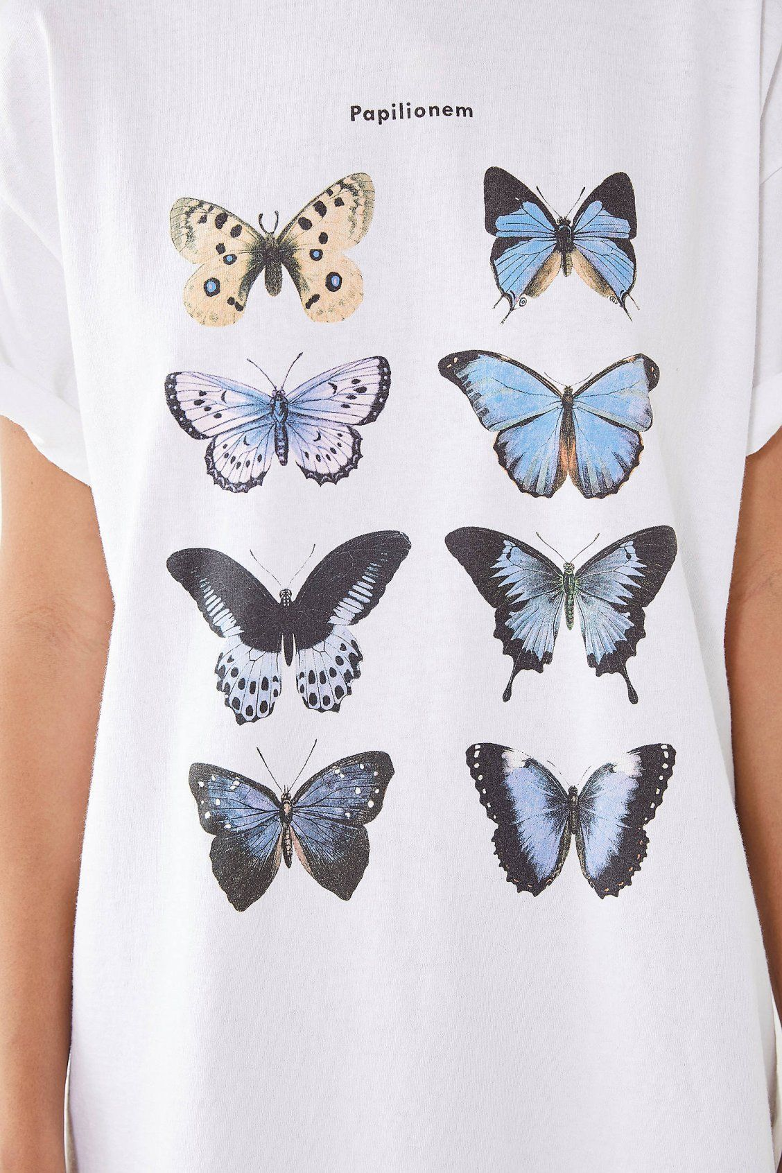 4cdebcc168d938 Blue Butterfly Tee