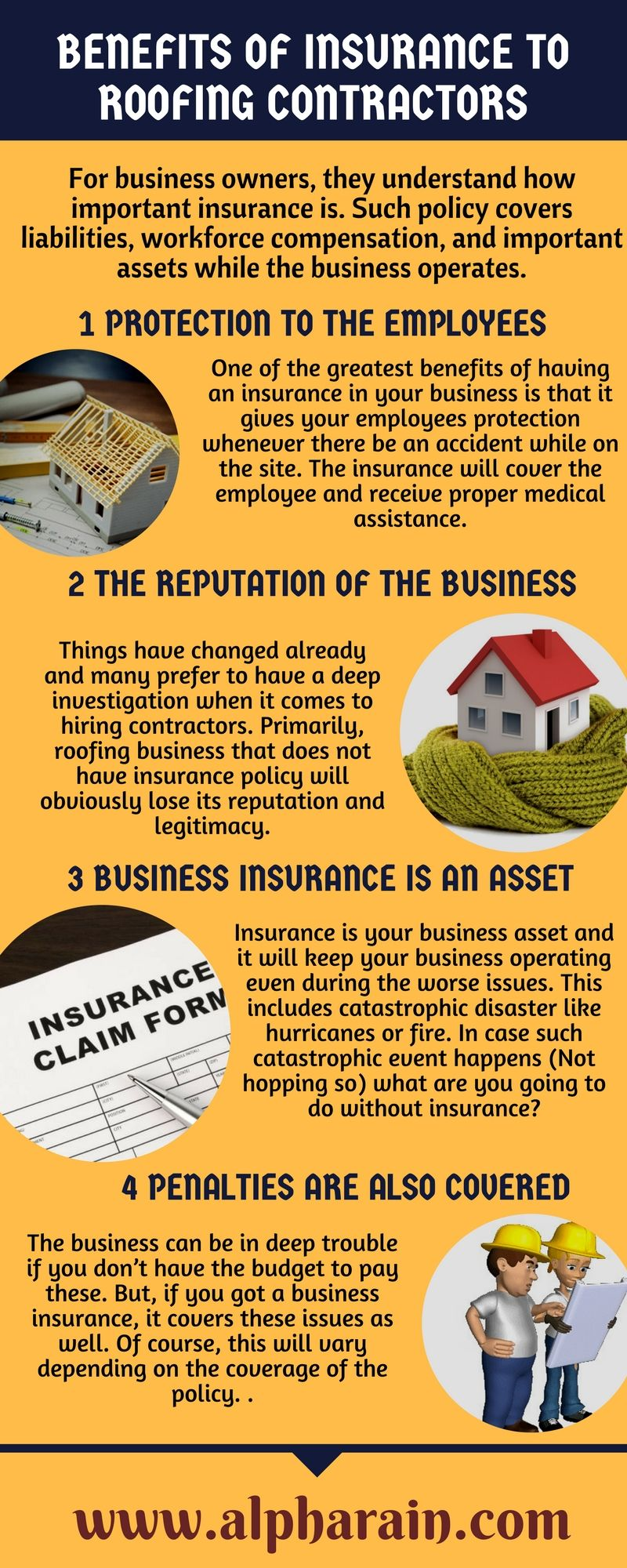 Benefits of insurance to roofing contractors roofing
