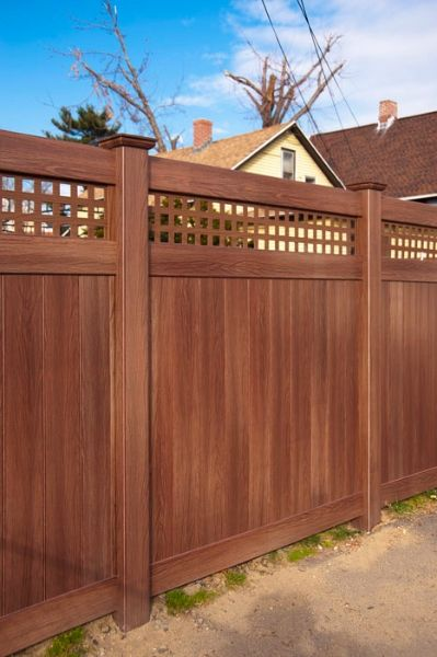 Illusions Pvc Vinyl Fence Photo Gallery In 2019 Yard