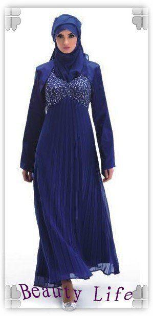 Free shipping 1PC Beauty Arab Women Robe Muslim 699eceeabaa0