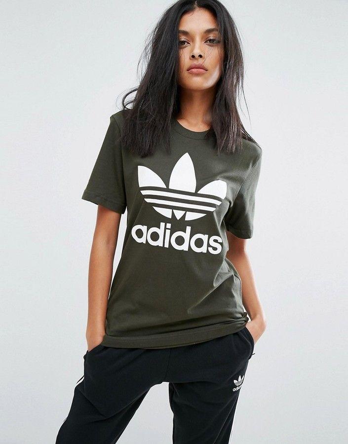 adidas originals femme tee shirt