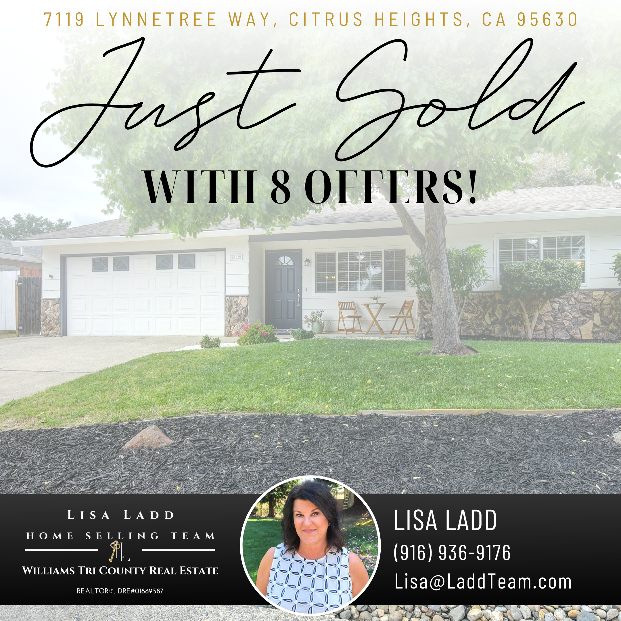 Just Sold With 8 Offers I Know Several Buyers That Are Looking For Similar Homes Message Me If You Want To Di In 2020 Things To Sell Offer Citrus Heights