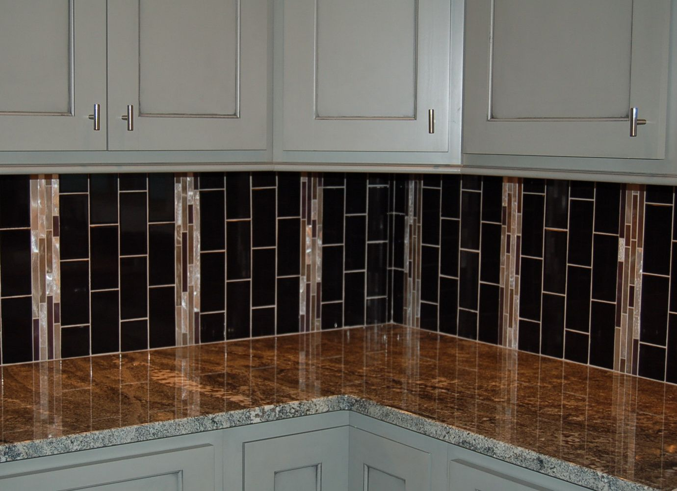 Turn The Subway Tile On A Vertical Instead Of Horizontal