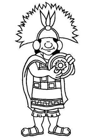 Inca Empire coloring page 11