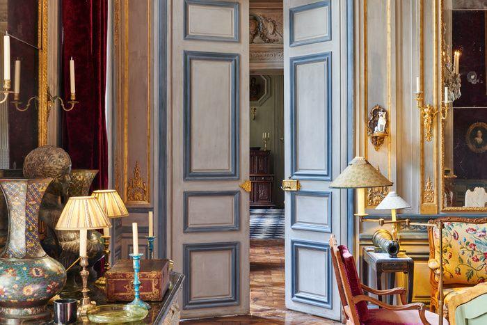 Joseph Achkar Michel Charriere Hotel Du Duc De Gesvres Paris Monsigny Achkar Charriere Interior Hotel Particulier Decoration Maison Decoration Interieure