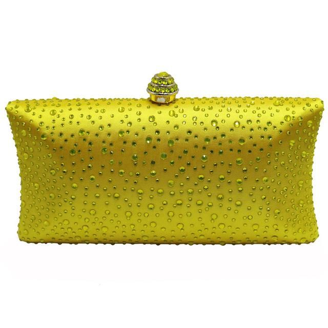 Party Prom Wedding Satin Glitter Glittery Sparkly Box Clutch Evening Bag Handbag
