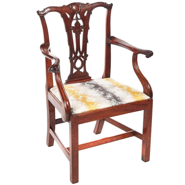 III Mahogany Elbow/Desk Chair Desk chair