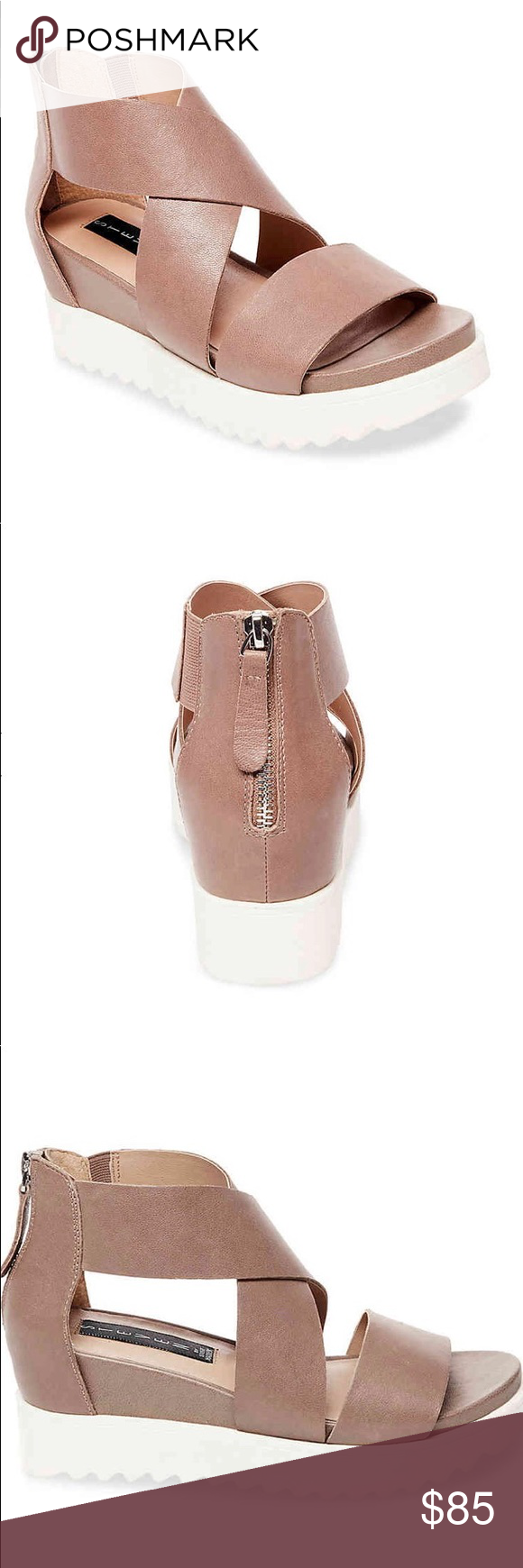 dfd9d6c2b55 Steve Madden Keanna wedge sandal Steve Madden Keanna wedge sandal now  available is different sizes with a price you can t pass up! Place your  order today!