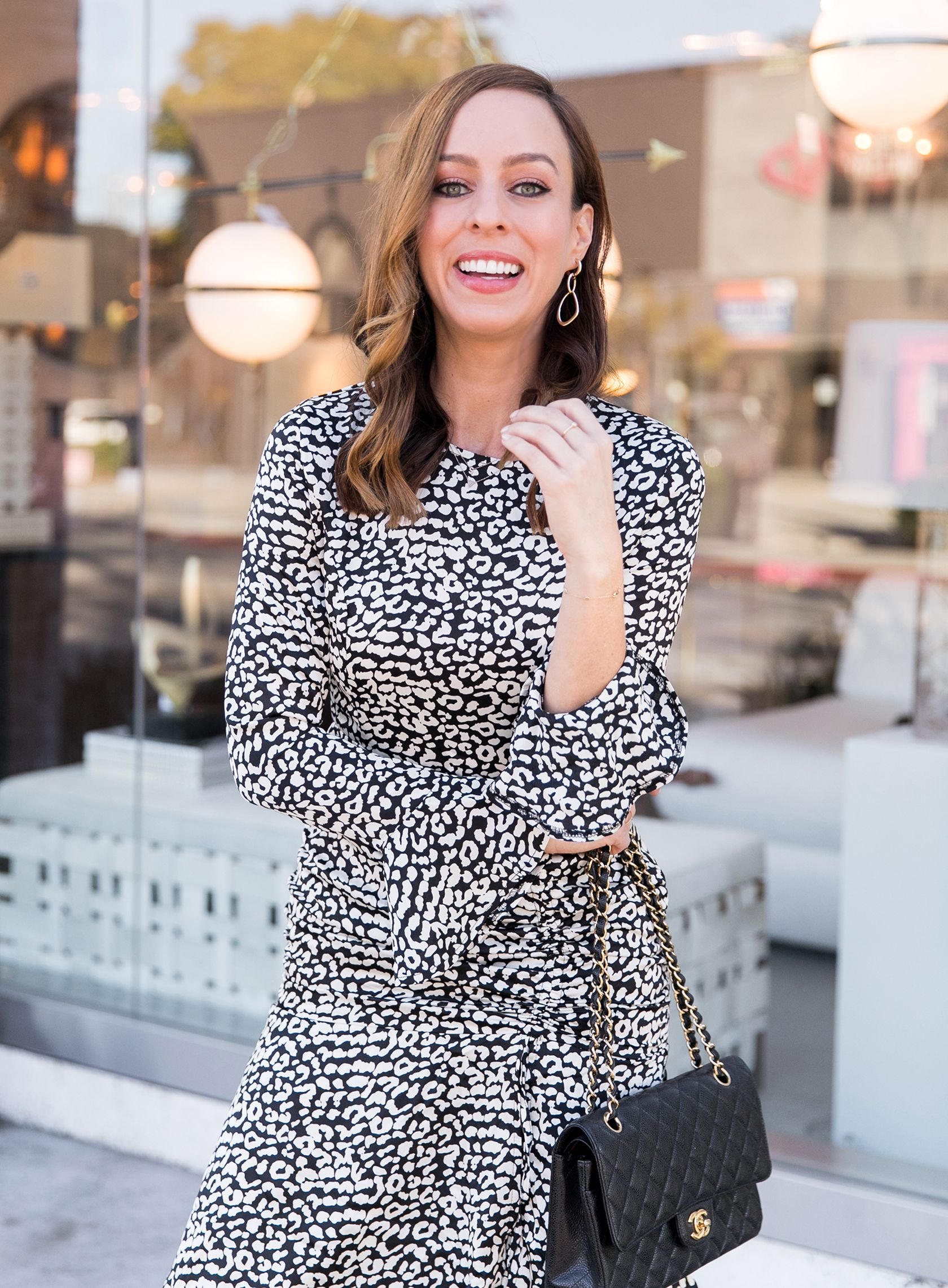 8 Leopard Dresses Under 100 To Wear Now And Later Sydne Style Leopard Dress Dresses Casual Fall Outfits [ 2284 x 1680 Pixel ]