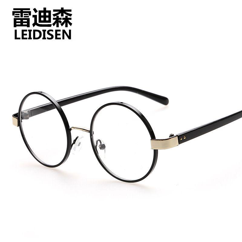 aa62a617f Barato Masculino e feminino atacado direto da fábrica moda óculos retro  grande moldura redonda óculos hot