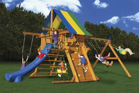 Colossal Kingdom Swing Sets From Playnation Kids Diy Family Moms