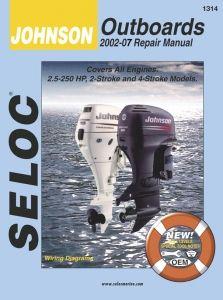 Johnson Outboard 2002 2007 Service Repair Manuals Outboard Marine Repair