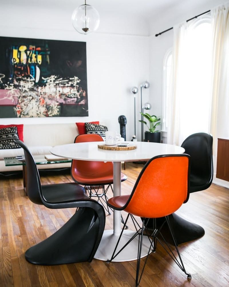 Looking For Dining Room Chairs? The Panton Chair Is A Surprising Classic  Option That Can