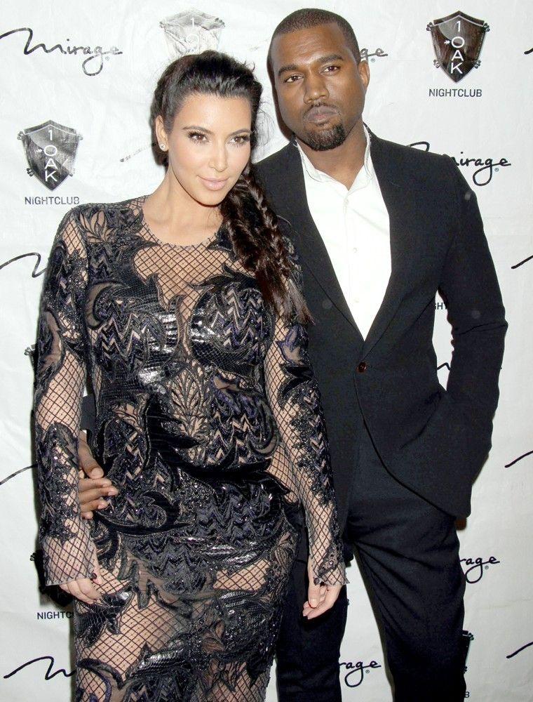 Kim Kardashian And Kanye West Having A Baby Girl Celebrity Dresses Kanye West And Kim Stylish Celebrities