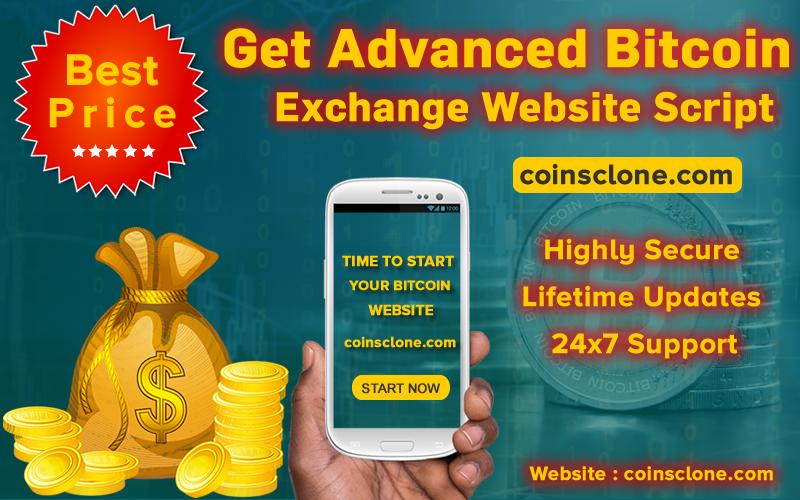 Get Advanced Bitcoin Clone Script from us! | Bitcoin