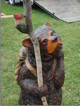 Jamie doeren chainsaw carving carvings i like . wood carving