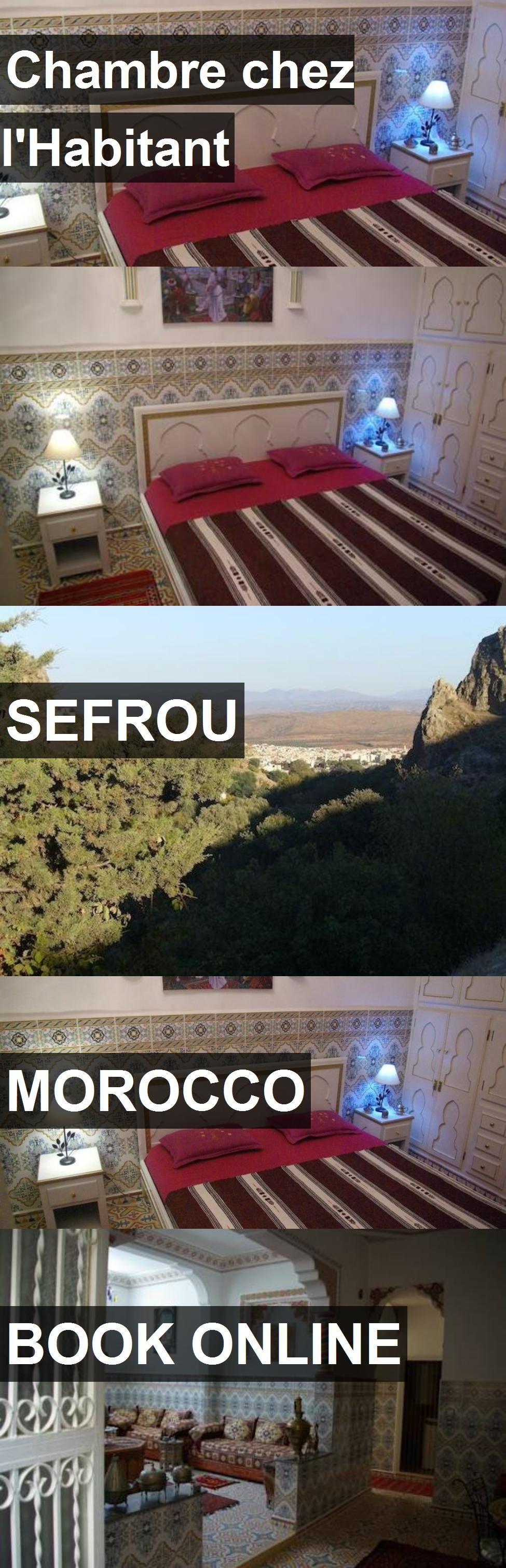 Hotel chambre chez l 39 habitant in sefrou morocco for more - Chambre chez l habitant marrakech ...
