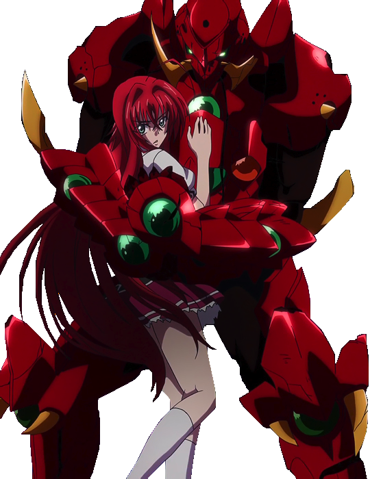 Issei X Rias 2.0 High School DxD Render by IronOakMan